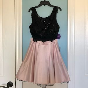 815e6525bed6 Windsor Dresses | Two Piece Black And Pink Dress | Poshmark